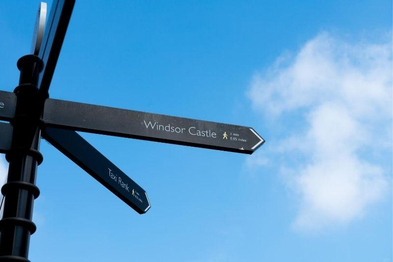 Windsor Castle location