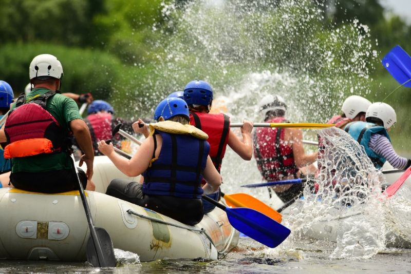 best time of year for rafting in Bali