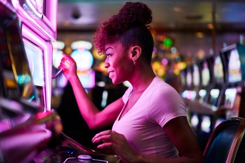 apostar en las tragamonedas en Aria Casino