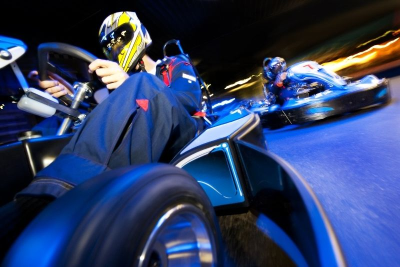 go-karting in Las Vegas