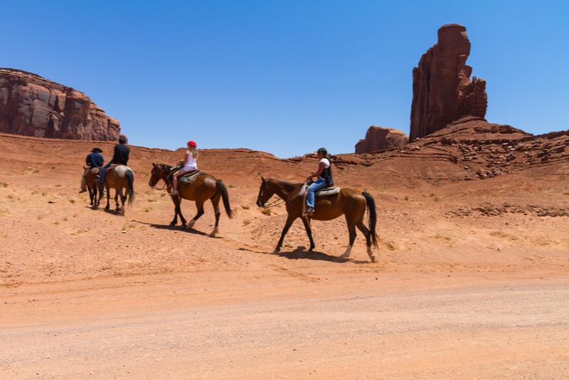 horseback ride from Las Vegas
