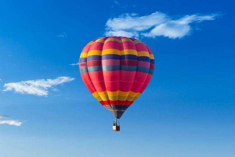 hot air balloon in Las Vegas