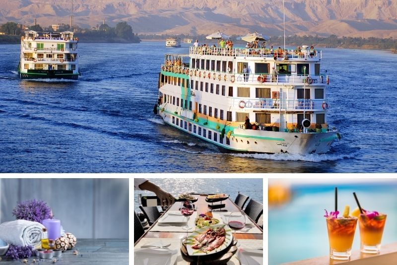 Luxus-Nilkreuzfahrten