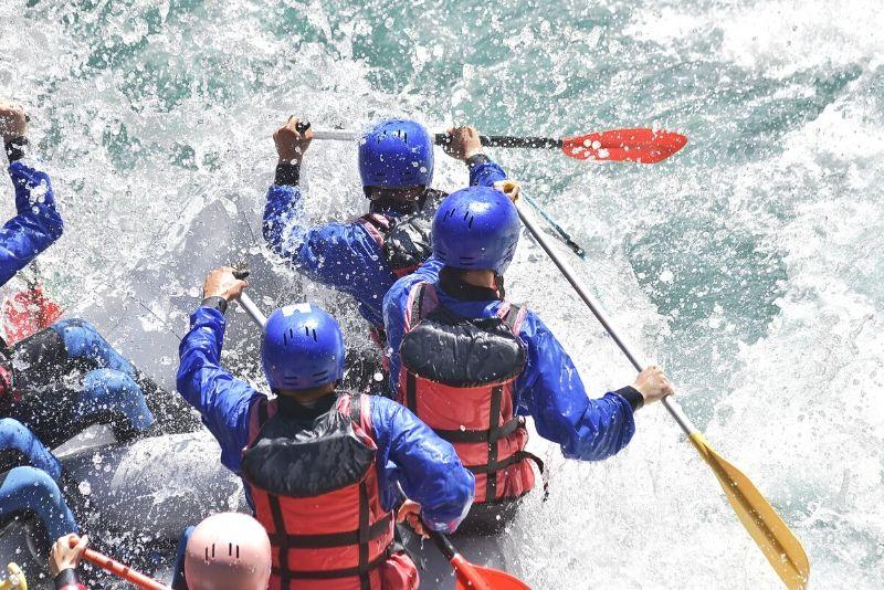 rafting for adrenaline seekers in Bali