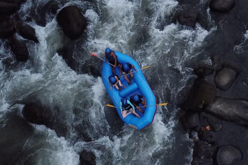 rafting in Bali price