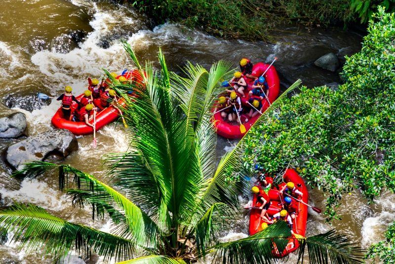 rafting tour in Bali