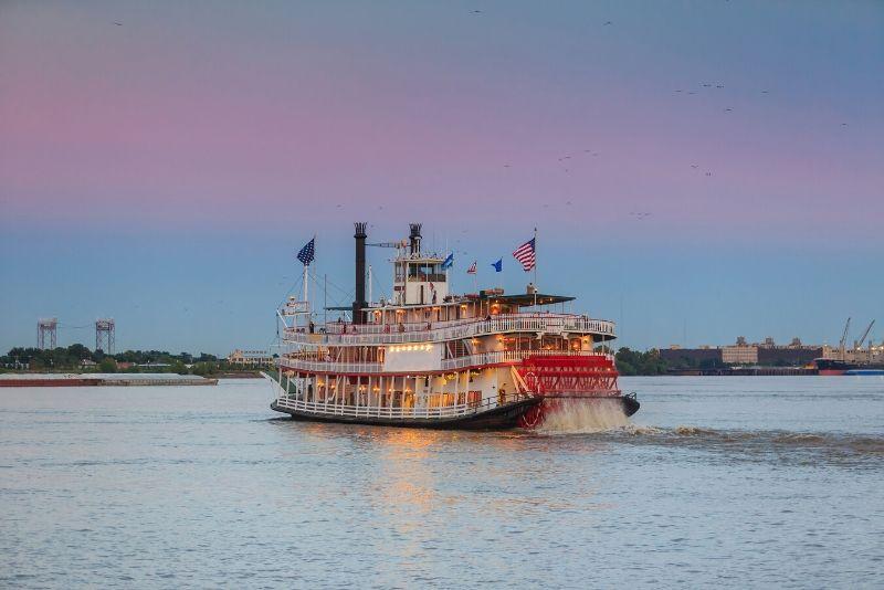 steamboat Natchez cruise duration