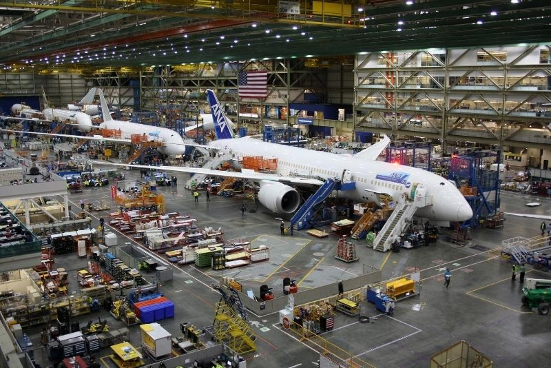 things to see at Boeing Factory
