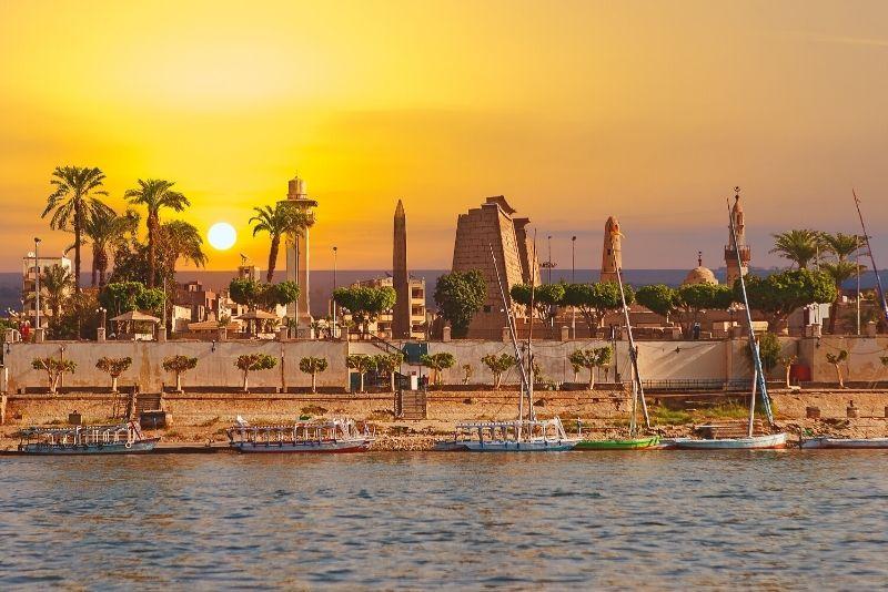 Dinge zu sehen während einer Nilkreuzfahrt