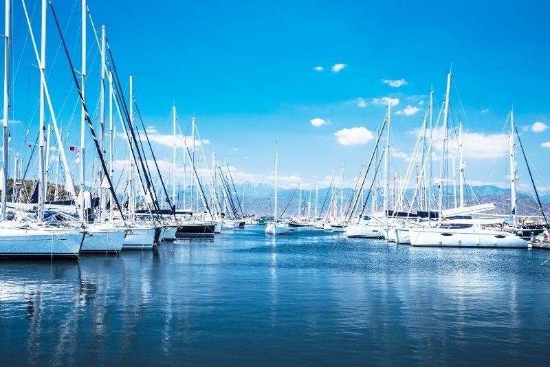 compagnies location bateau à Saint Martin