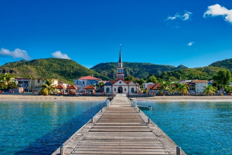 itinéraires de navigation au départ de la Martinique