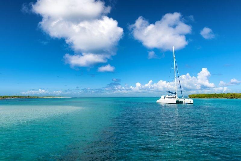 meilleure période pour naviguer en Guadeloupe