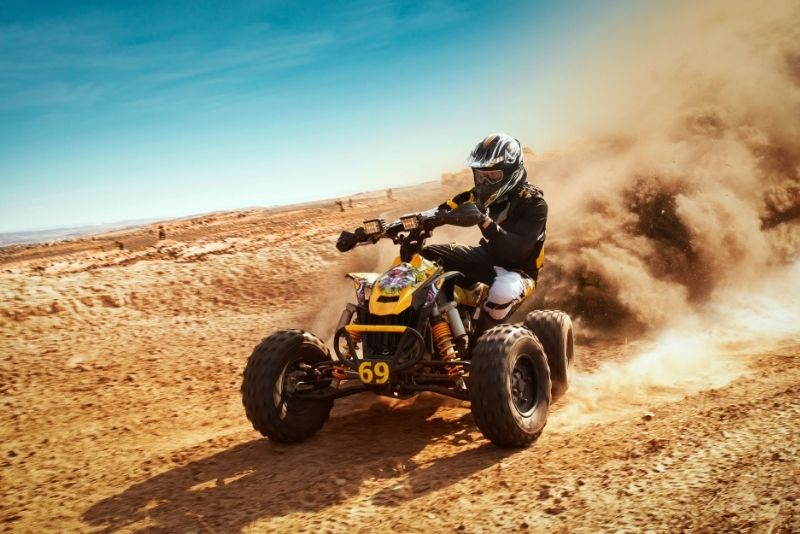 ATV in San Diego, California