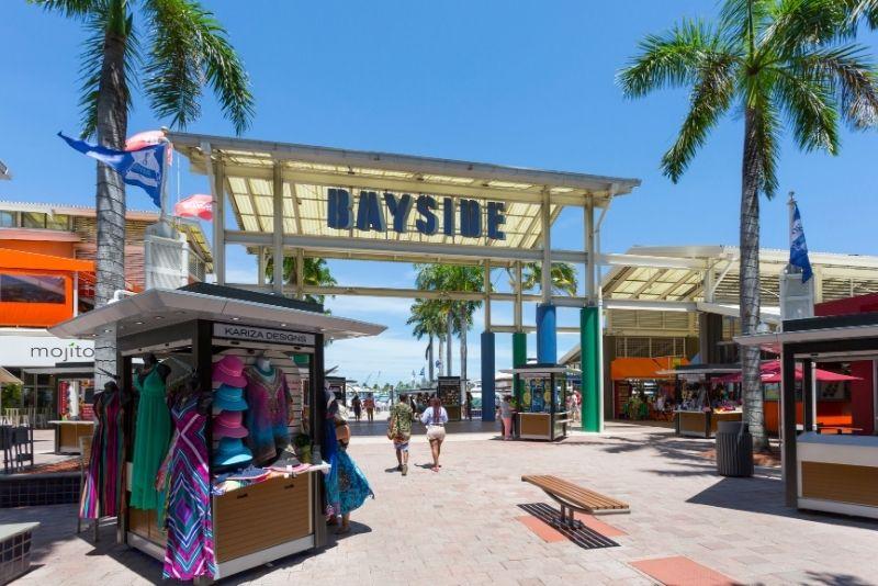 Bayside Marketplace en Miami, Florida