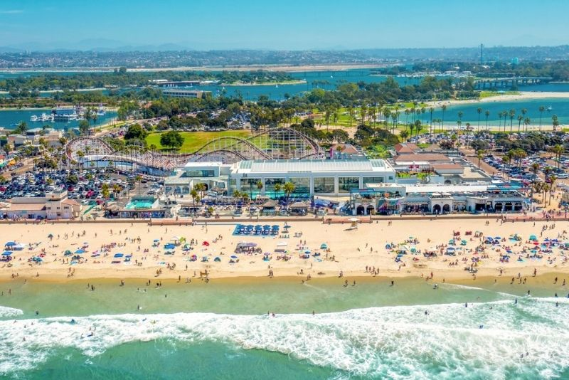 Belmont Park in San Diego, California