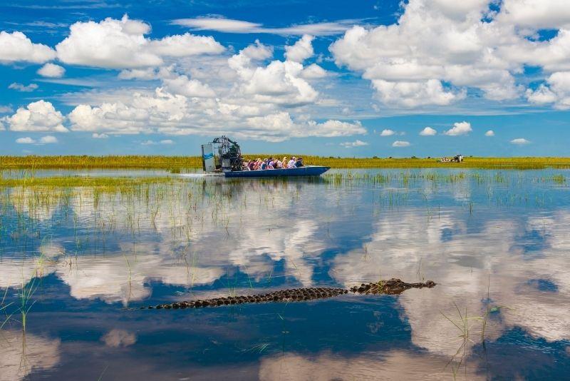Tour en airboat por los Everglades desde Miami