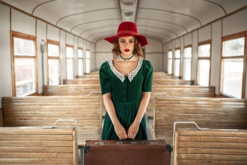 Sesión de fotos en el Gold Coast Railroad Museum, Miami, Florida