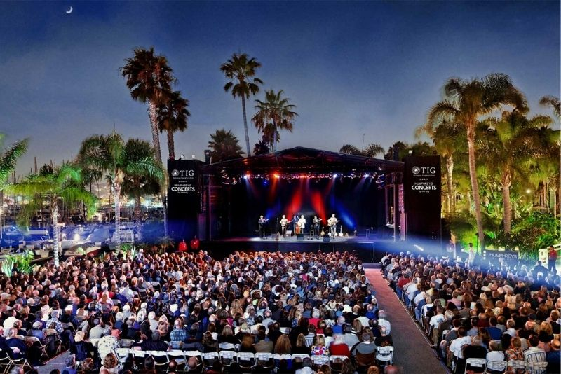 Humphreys Concerts By The Bay, San Diego, California