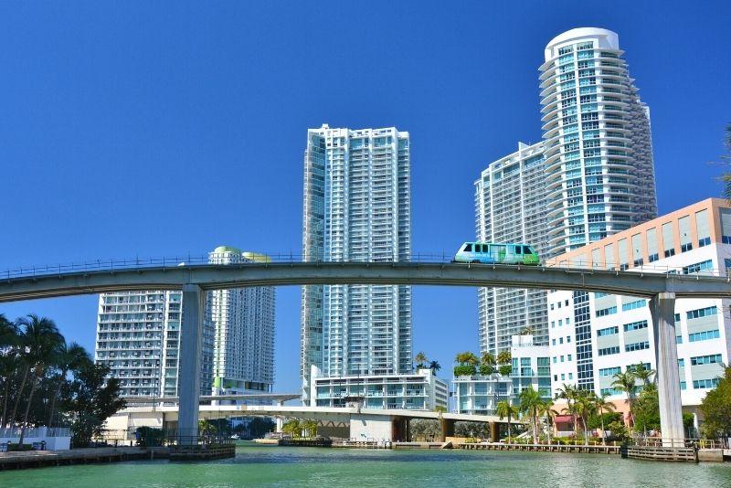 Metromover en Miami, Florida