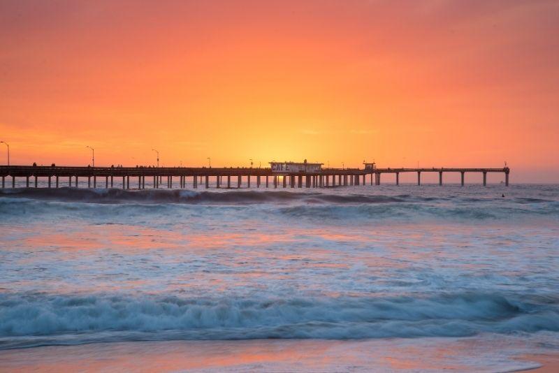 Ocean Beach Pier in San Diego, California