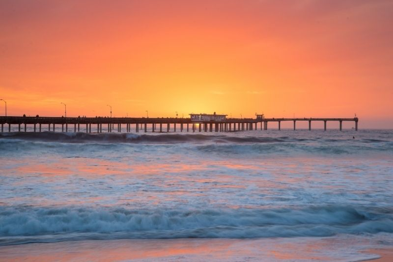 Ocean Beach Pier in San Diego, California