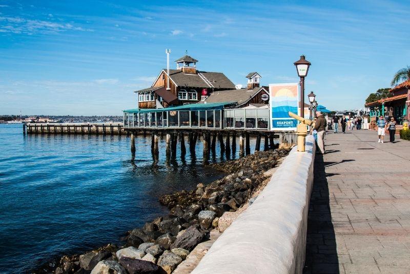Seaport Village, San Diego, California