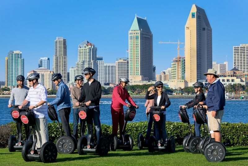 Segway tour in San Diego, California
