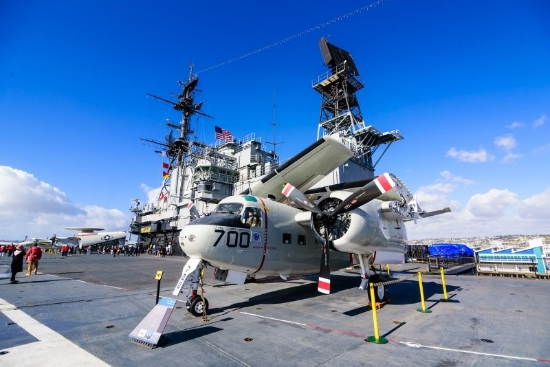 USS Midway Museum in San Diego, California