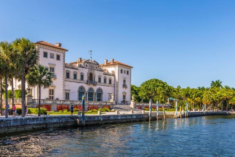 Museo y jardines de Vizcaya en Miami, Florida