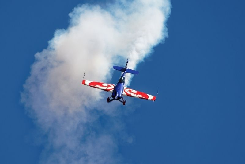 aerobatics flight in San Diego, California
