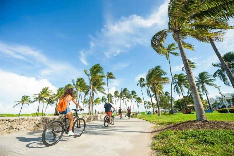 Tour en bicicleta por South Beach, Miami, Florida