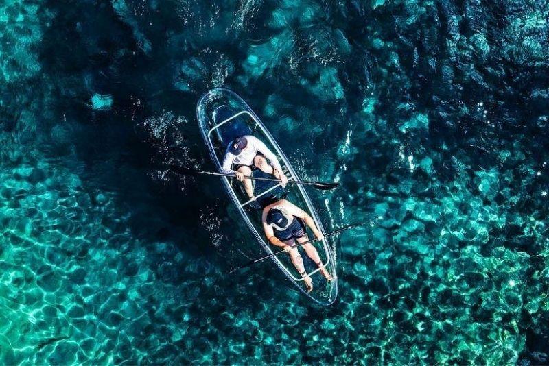 kayak claro en Jupiter, Florida