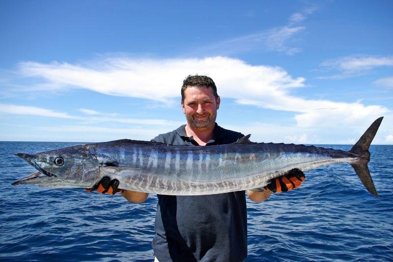 deep sea fishing trip from San Diego, California