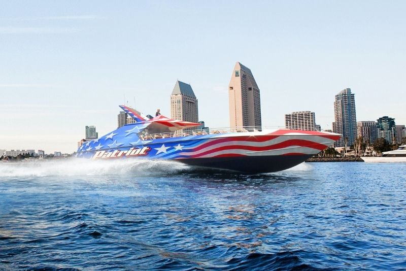 jetboat in San Diego, California