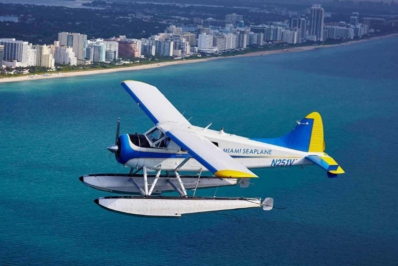 Tour en hidroavión en Miami, Florida