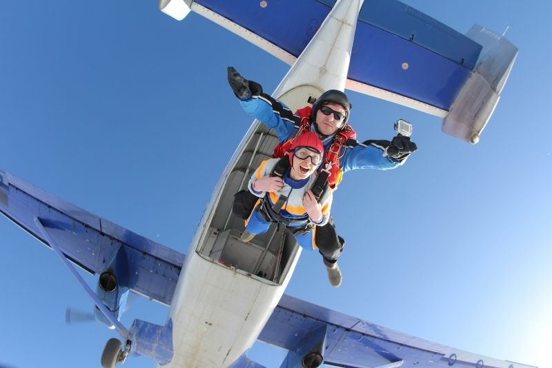 skydiving in San Diego, California