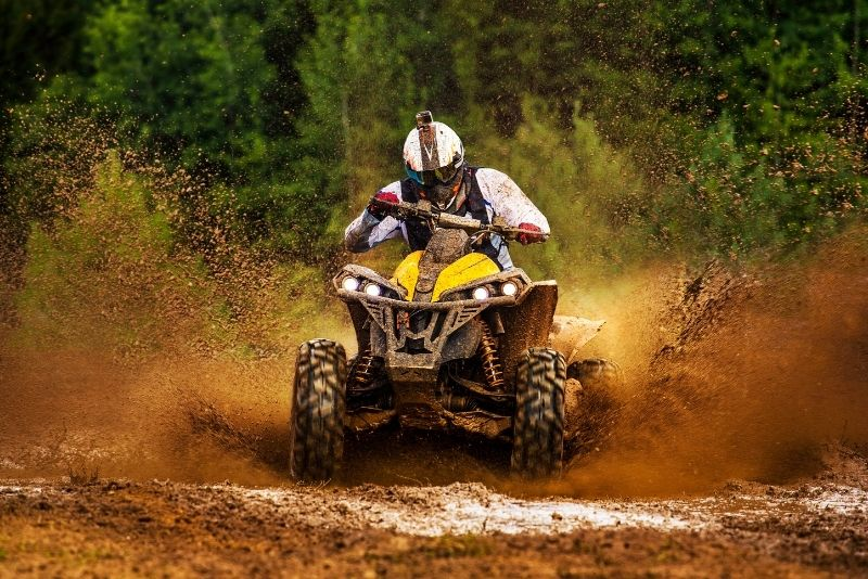 ATV riding in Cancun, Mexico