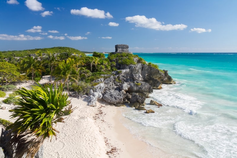Archeological Zone of Tulum, Mexico