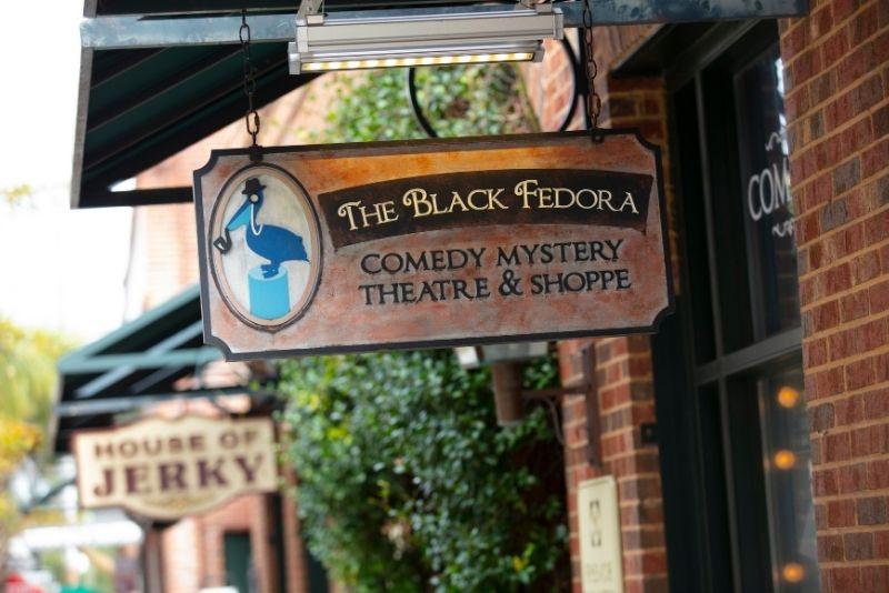 Black Fedora Comedy Mystery Theatre and Shoppe, Charleston