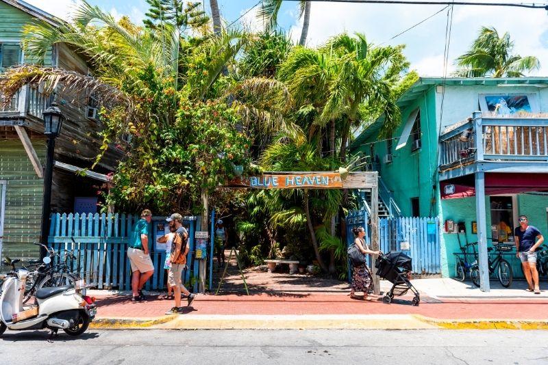 Blue Heaven restaurant, Key West, Florida