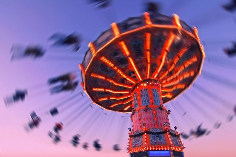 Carousel Gardens Amusement Park, New Orleans