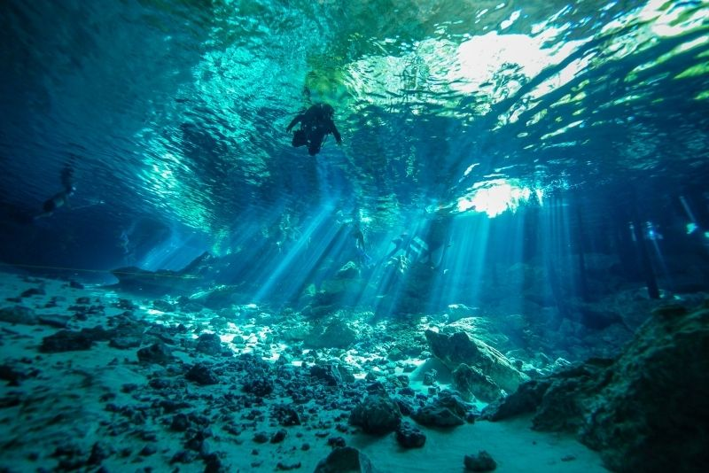 Cenote Hubiku, Mexiko