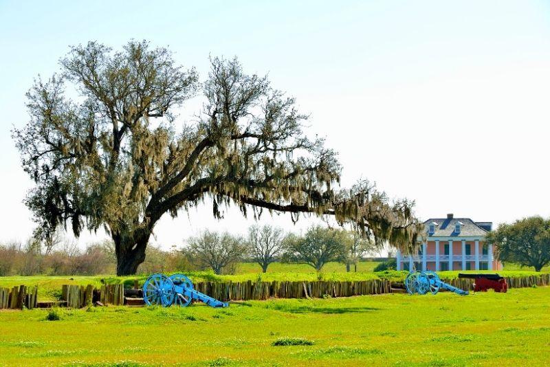 Chalmette Battlefield near New Orleans