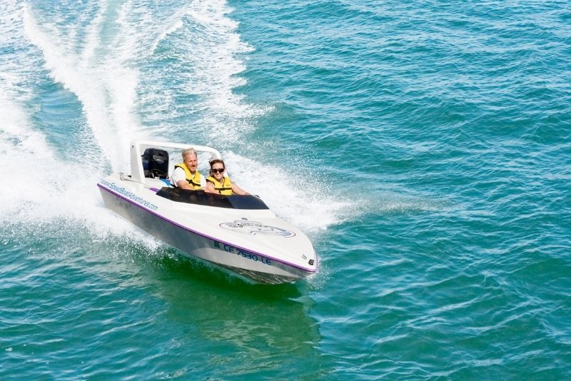 Charleston speed boat adventure