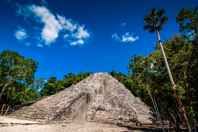Coba archaeological site, Mexico