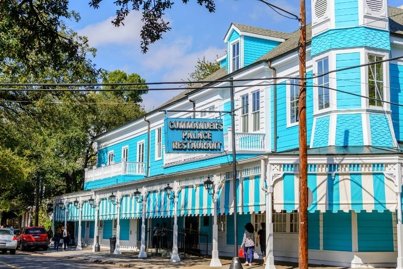 Commander's Palace restaurant, New Orleans