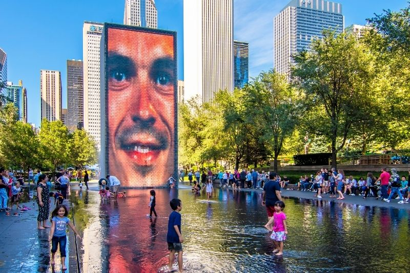 Crown Fountain, Chicago