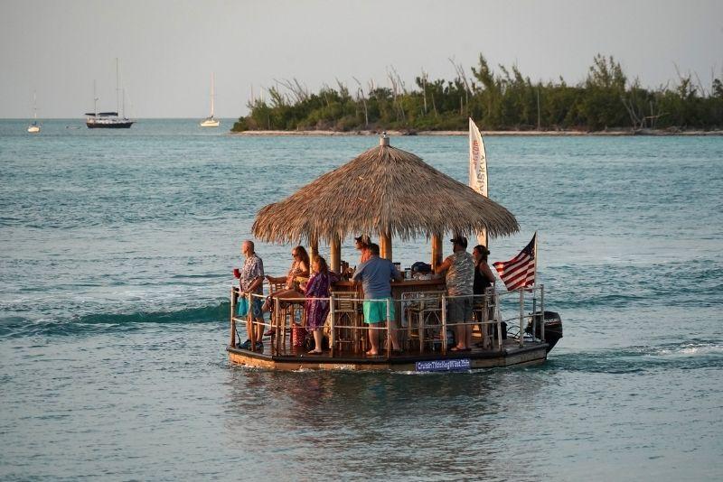 Cruisin' Tikis Key West boat party, Florida
