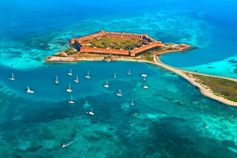Dry Tortugas National Park day trip from Key West, Florida