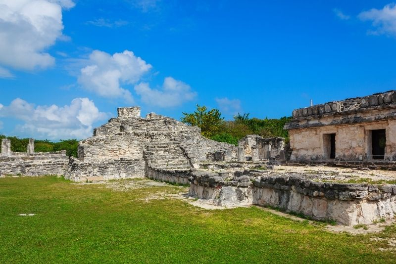 El Rey Archaeological Zone, Cancun, Mexico